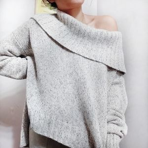 Eileen Fisher Oversized Cashmere High Low Sweater
